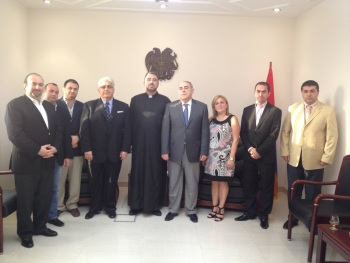 Visit of the Council of the Armenian Community in Dubai & the